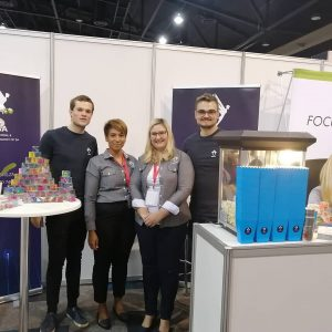 SIOPSA event stand