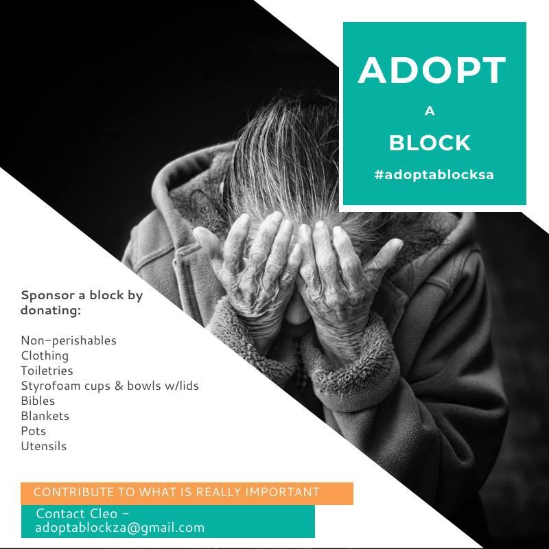 Adopt a block ad campaign